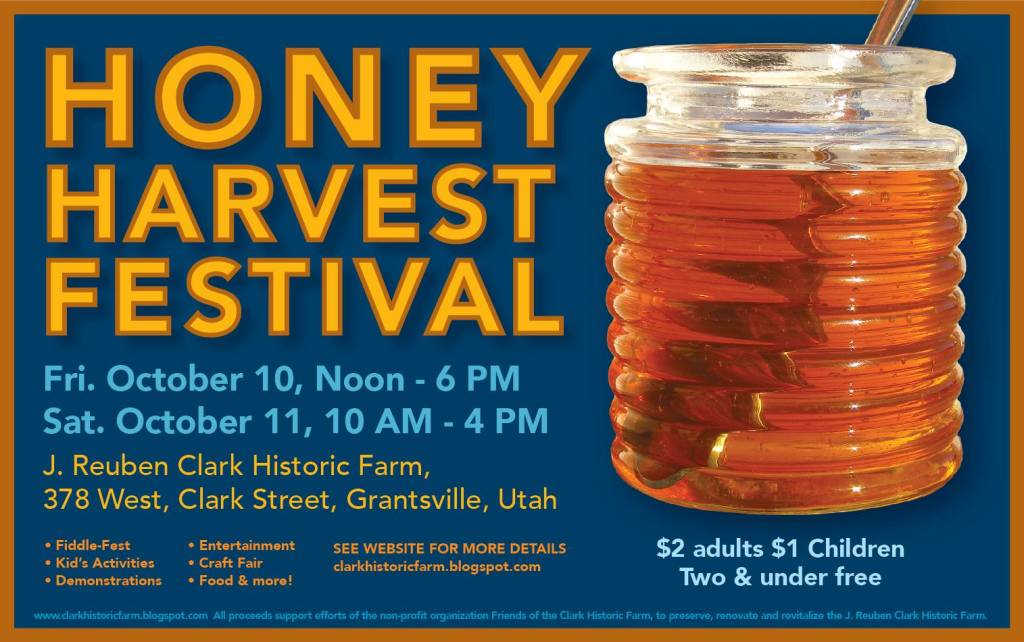 Honey Harvest Festival Flyer