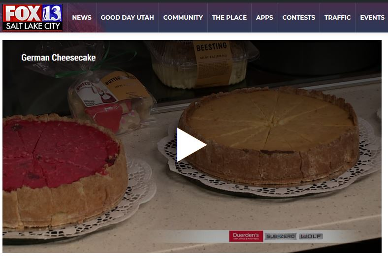 Our Cheesecakes featured on Fox 13 News
