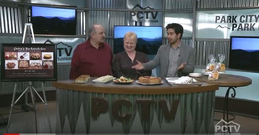 Park City TV Hosts us in March