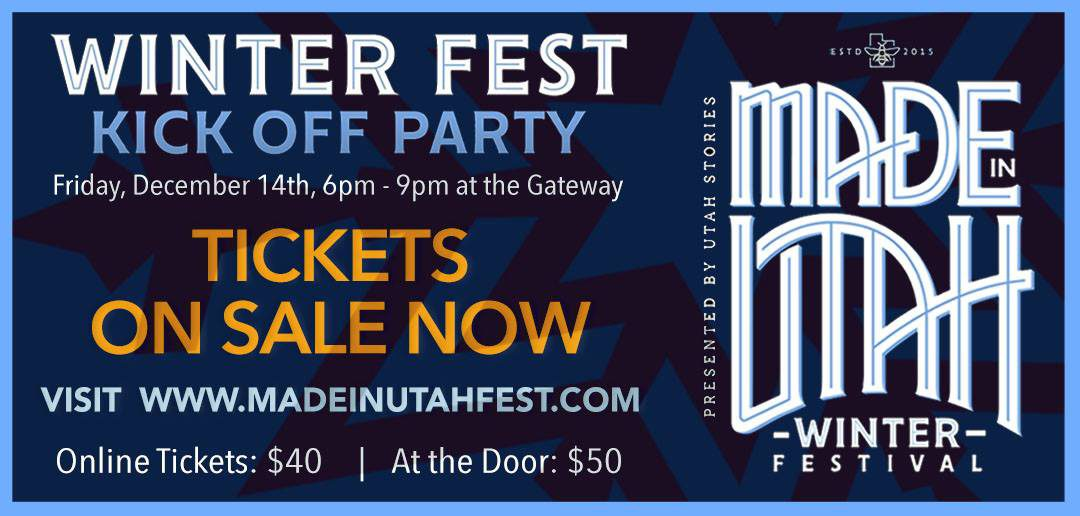 Winter Fest by Made in Utah – December 15 and 16