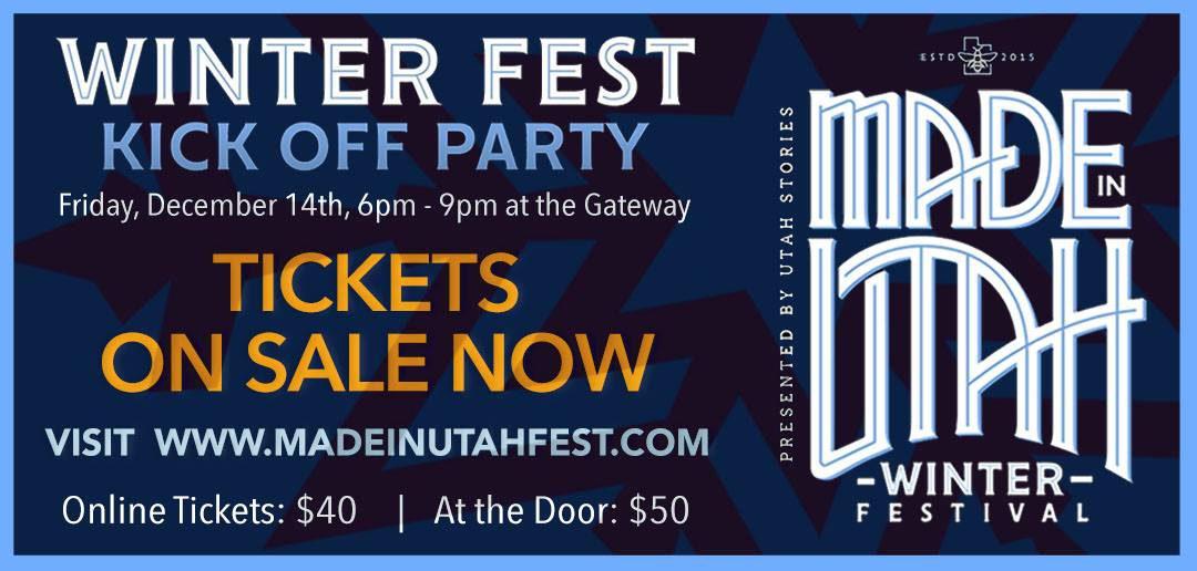 Made in Utah Winter Fest promo
