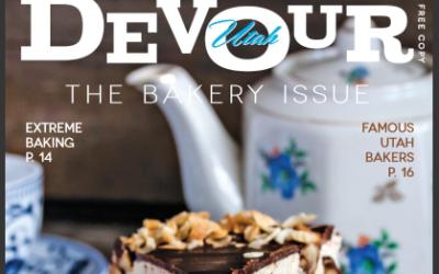 Featured in Devour Utah Magazine