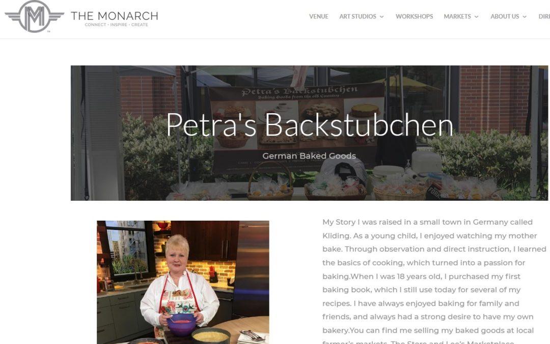 Monarch Market vendor page
